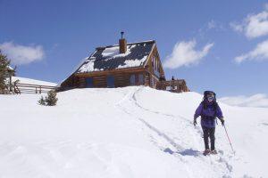 Tenth Mountain Division Hut in Colorado