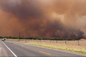 Wildfire. Credit: Ben, FlickrCC