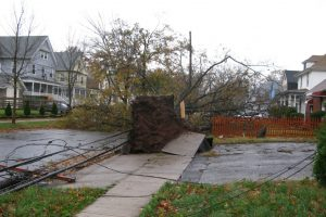 Hurricane Sandy damage. Credit: Ann Oro, FlickrCC